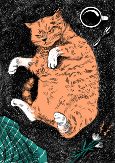 Иллюстрация для открытки