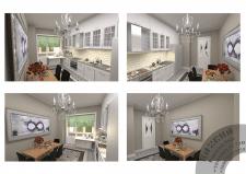 Дизайн кухни, неоклассика