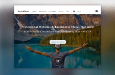 """Ре-дизайн сайта для компании """"Reachdots"""