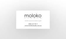 Визитка для фотостудии на дизайнерском картоне