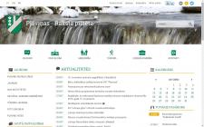 Сайт для мэрии г. Плявиняс (город в Латвии)