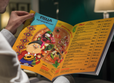 Pizza Patriota Ukrainian Menu Pages vol.1