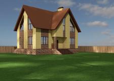 Рабочее проектирование частного дома