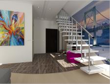 ЖК Комфорт таун 2 уровневая квартира