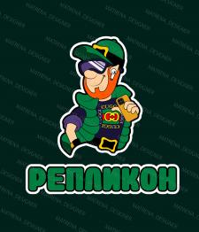 Логотип для интернет магазина Репликон