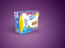 дизайн упаковки для детского конструктора