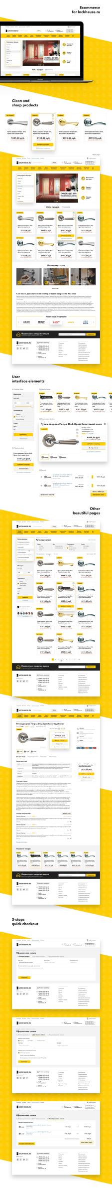 Ecommerce website for doors and locks retailer