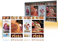 Оформление фасада пиццерии