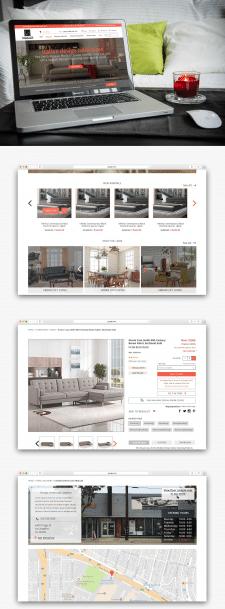 Дизайн для сети магазинов мебели и аксессуаров