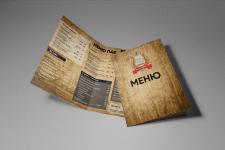 Print Menu Design