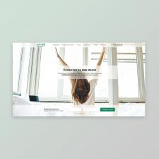 Landing Page для компании CHAMELEON