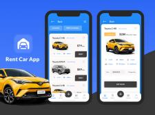 Car rent app