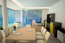 Визуализация офисного помещения