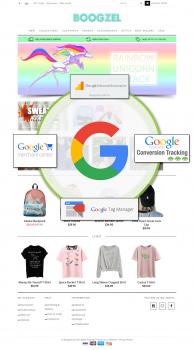 Комплексная интеграция c Google Ecommerce Services
