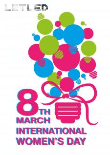 открытка к 8-му марта