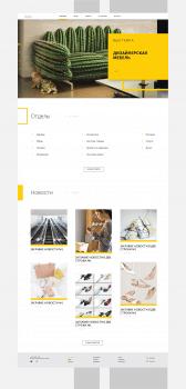 Дом торговли (Дизайн сайта для центрального униве)