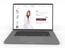 Разработка дизайна сайта для магазина одежды