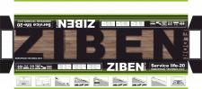 Упакування для ламінованої підлоги ZIBEN