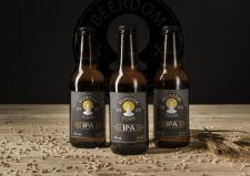 Beerdom Come bottle sticker