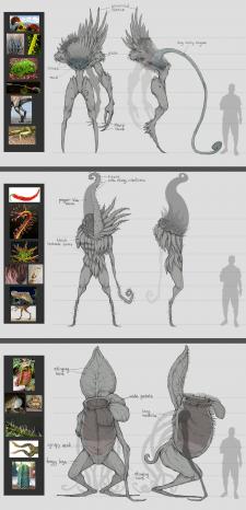 Референсы и дизайн существ