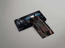 Дизайн поздравительного флаера-открытки