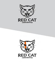 Логотип для пивоварни Red Cat