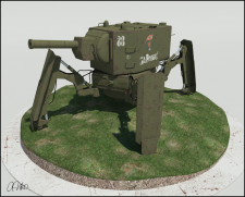 Tank KV 2