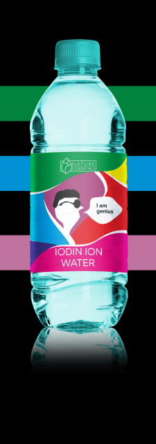 IODIN ION WATER
