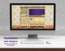 Дизайн сайта для мебельной компании GMI