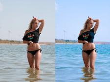 Ретушь, цветовая коррекция фотографии
