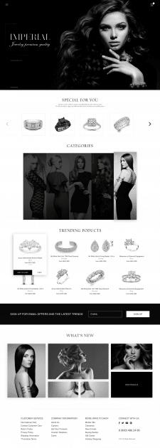 Интернет-магазин  по продаже ювелирных изделии
