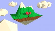 3D изображение в стиле Low Poly