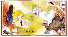 Иллюстрация для книги «1001 ночь»