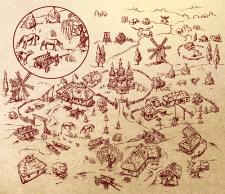 Карта в векторе