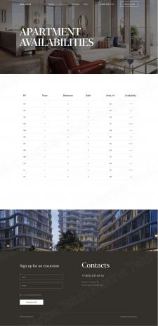 Сайт для элитной недвижимости (Страница 2)