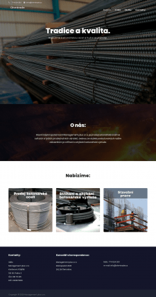 Сайт чешского холдинга