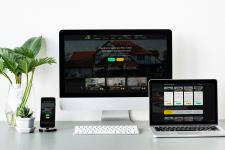 Дизайн сайта компании по продаже домов