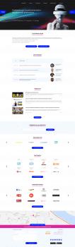 Концепт редизайна сайта ar-conf.ru
