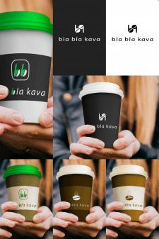 Варианты логотипа для кофейни