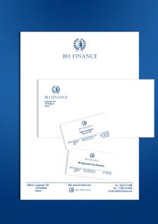 Фирменный стиль. BH Finance.