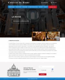 Сайт для католической церкви