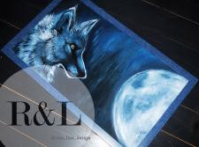 Картина маслом «Moon