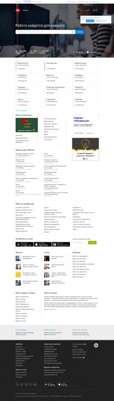Парсинг электронных почт с сайта hh.ru