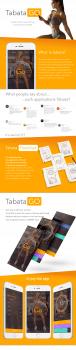 Дизайн мобильного приложения для iOS TabataGO