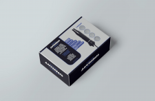 Дизайн коробки для медицинского прибора