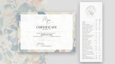 Сертификат и прайс