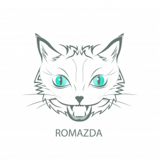 """Логотип """"Romazda"""""""
