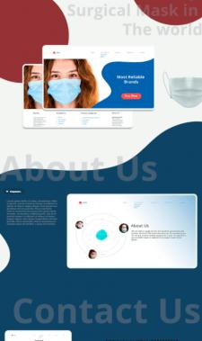 Medical-supplies web site