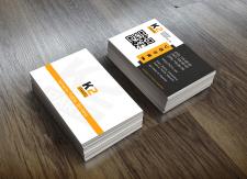 Дизайн визитки с водяным знаком