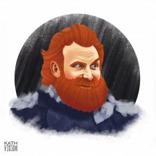 Tormund Portret